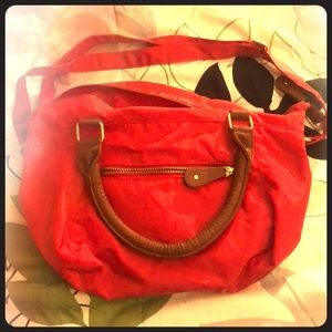 Red old navy bag
